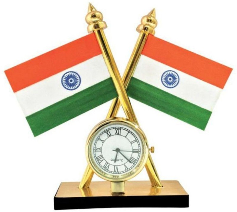 AutoStark India Double Sided Wind Car Dashboard Flag Flag(Plastic)