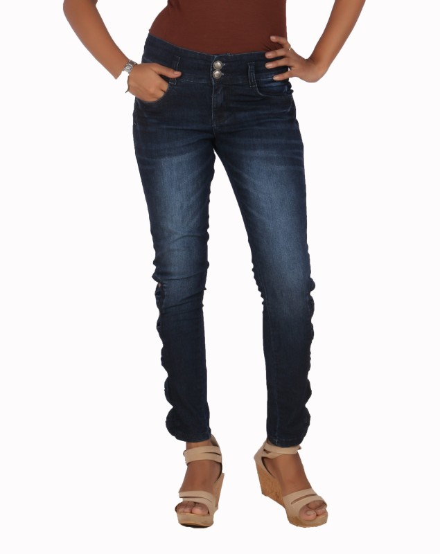 Fashion Stylus Slim Women Blue Jeans