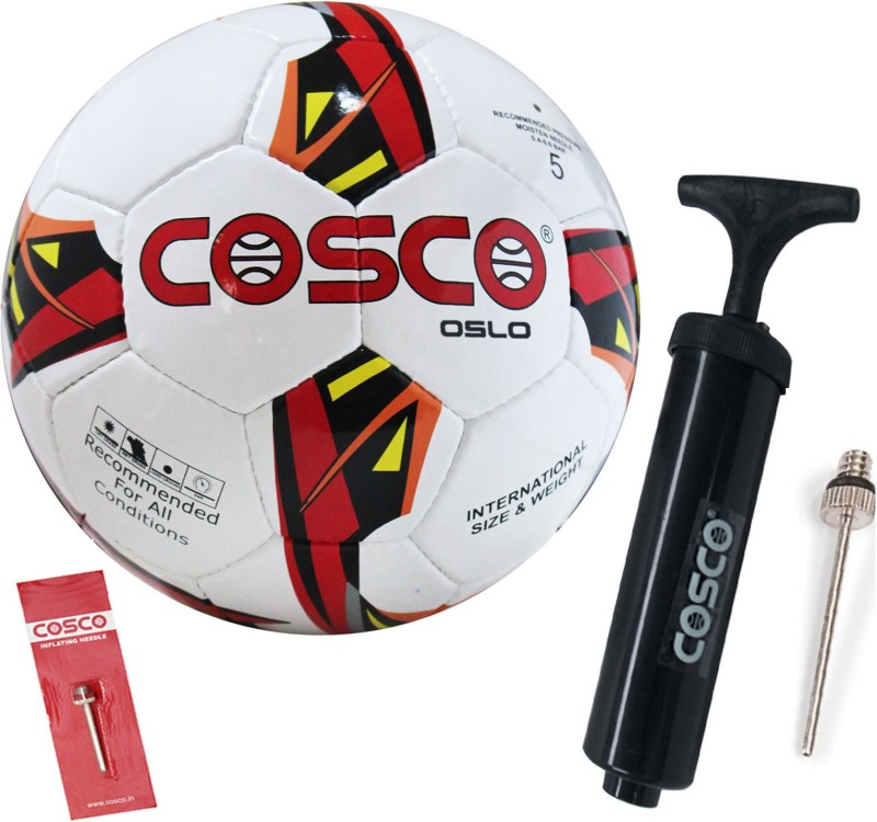 Cosco OSLO Football With Football Pump Football Kit