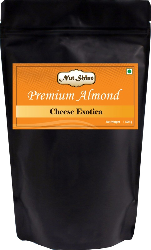 Nut Shine Cheese Exotica (500 Gm) Almonds(500 g)