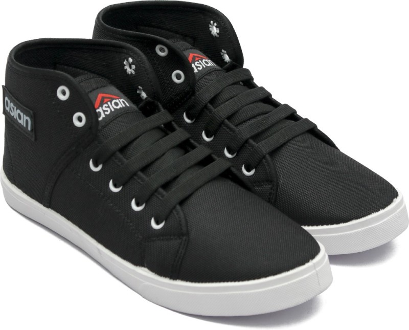 Asian CYBER_103 Casuals For Men(Black)