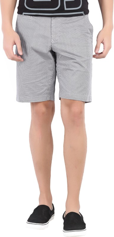 Tommy Hilfiger Printed Mens Black, White Basic Shorts