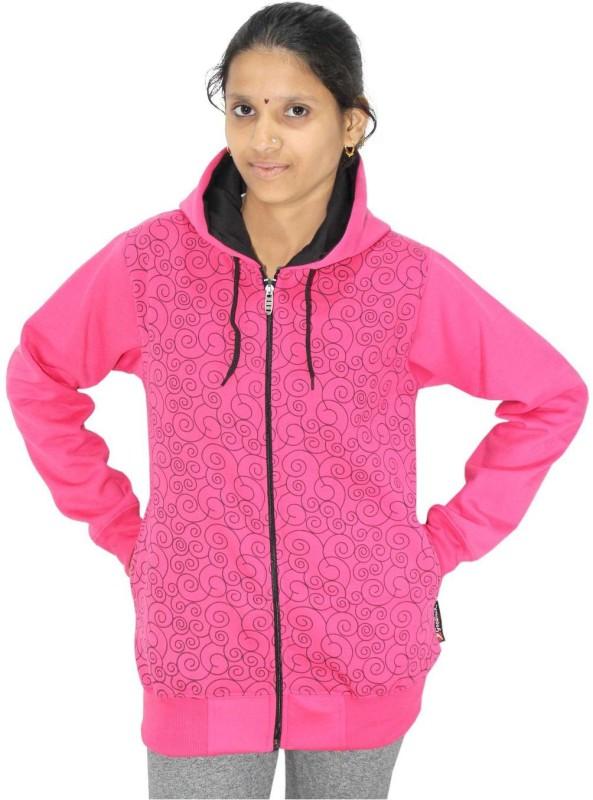 Goodluck Full Sleeve Printed Women's Reversible Sweatshirt
