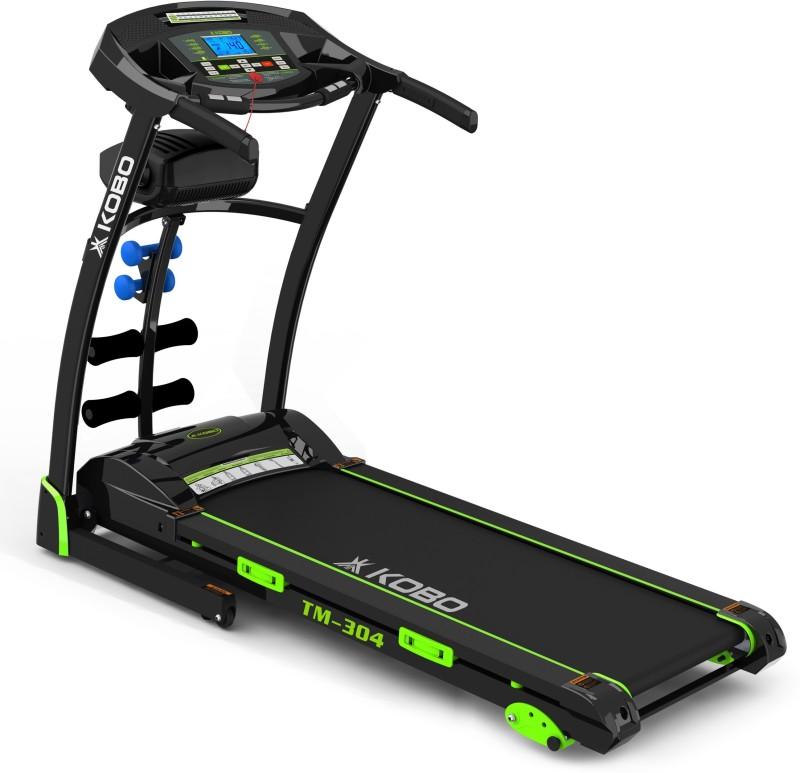 Kobo TM-304 3 H.P. Peak Multi Function with 3 Level Incline Treadmill