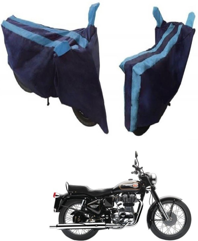 Flipkart SmartBuy Two Wheeler Cover for Royal Enfield(Bullet 350, Blue,...