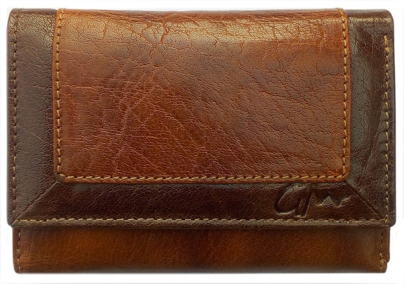 Gentleman Men Tan, Brown Genuine Leather Wrist Wallet(18 Card Slots)
