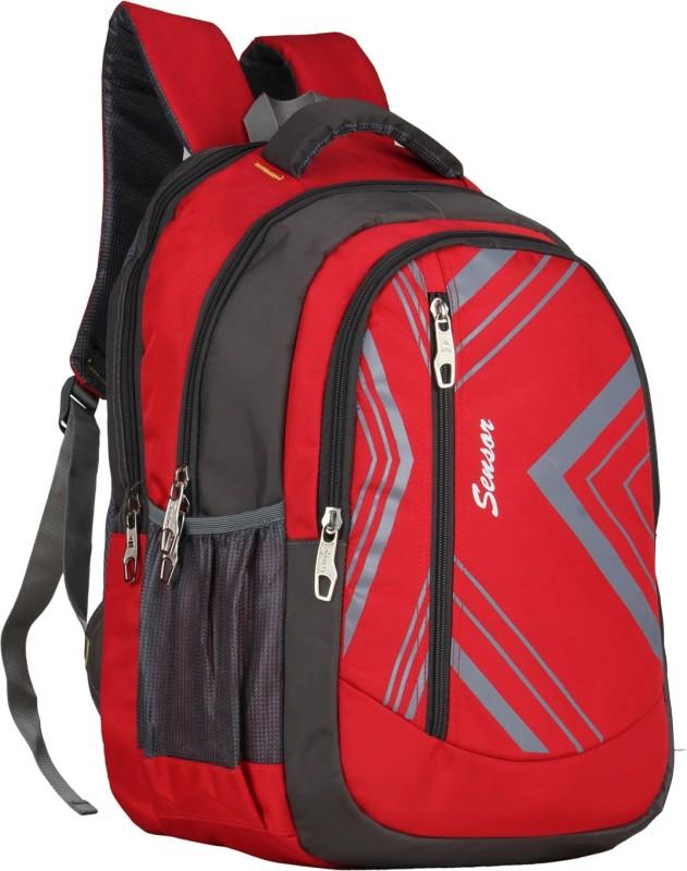 Sensor Frost 30 L Laptop Backpack(Red, Grey)