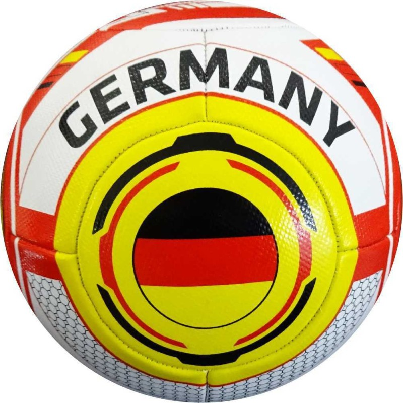 WASAN GERMANY Football - Size: 5(Pack of 1, Red)