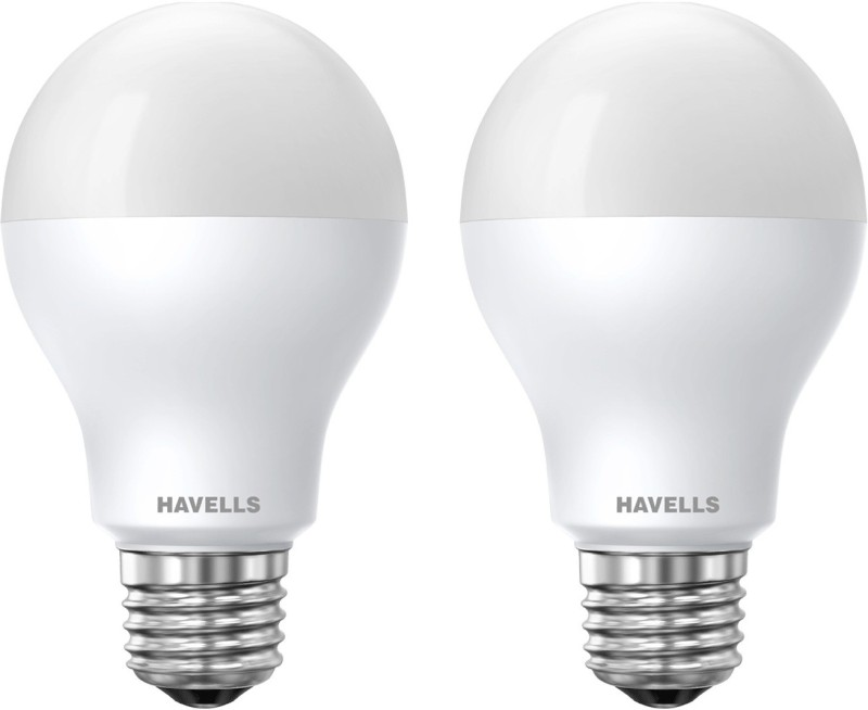 Havells 7 W Standard E27 LED Bulb(Yellow, Pack of 2)