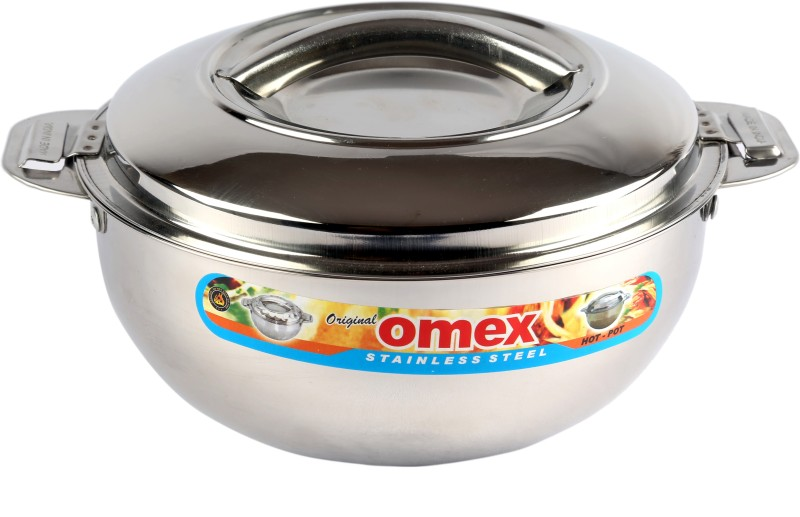 Omex Omex Viva 1000 Insulated Stainless Steel Casserole, Serving Pot Casserole(1 L)