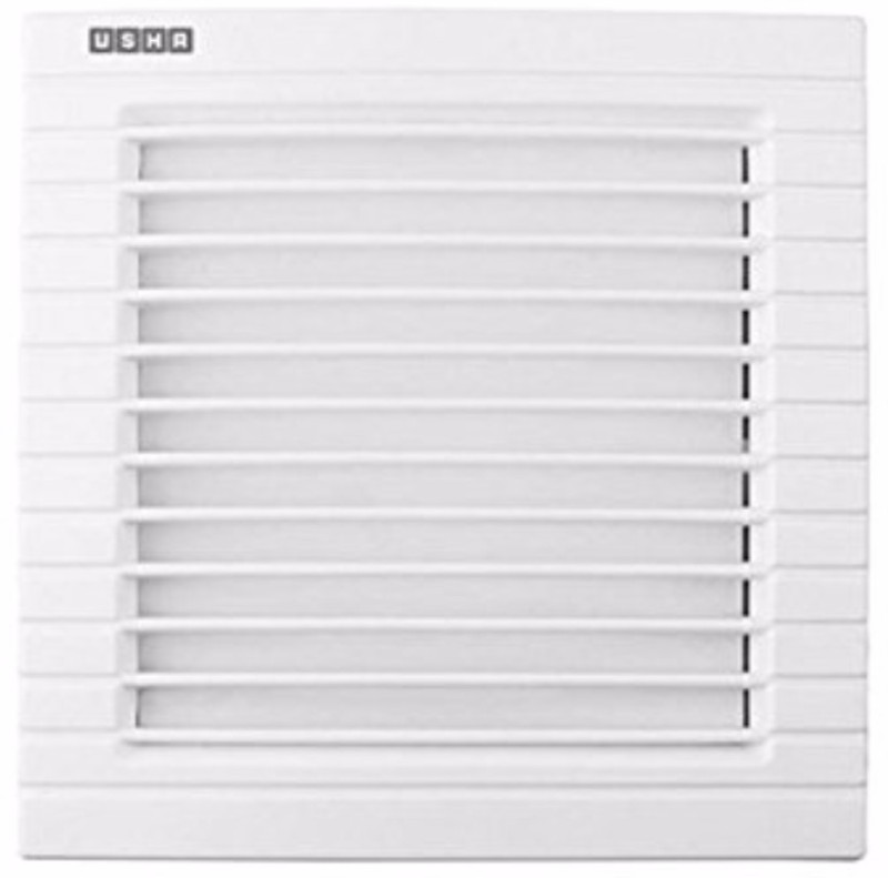 Usha Crisp Air Premia BV 100mm Exhaust Fan (White) 5 Blade Exhaust Fan(White)