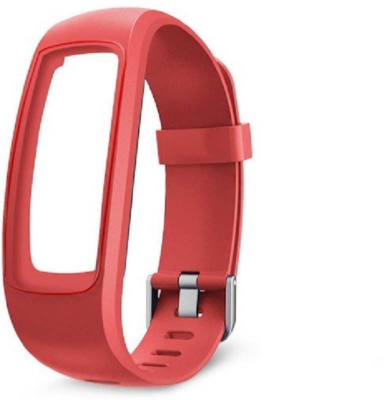 Omnix 107 PLUS HR Fitness Band(Red)