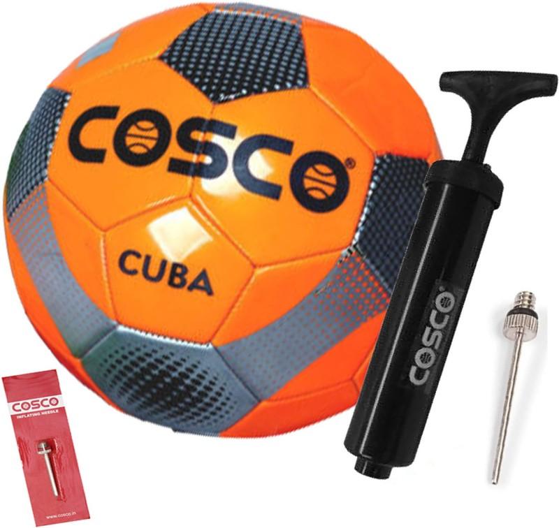 Cosco Cuba Football With Football Pump Football Kit