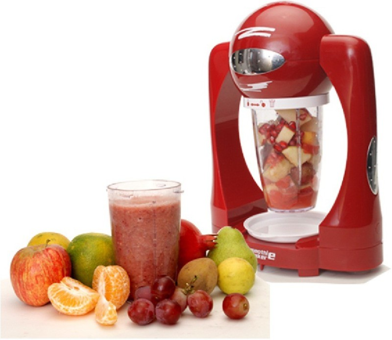 IBS SMM98 Smoothie maker Milkshake Mini Ice Blender 120 Juicer Mixer Grinder(Red, 3 Jars)