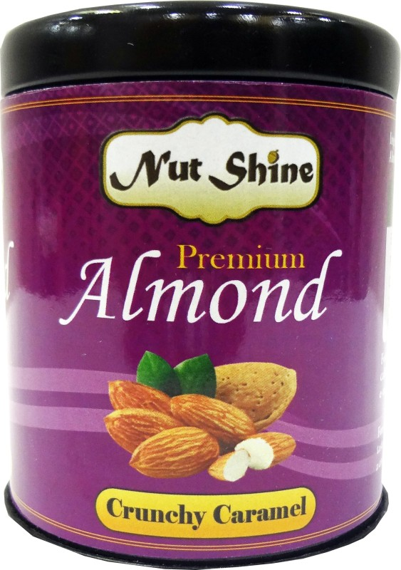 Nut Shine Crunchy Caramel (90 Gm) Almonds(90 g)