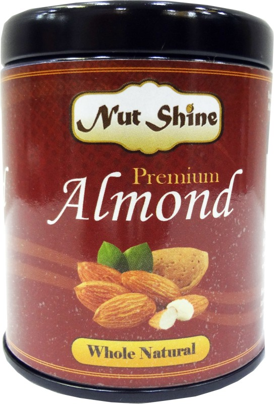 Nut Shine Whole Natural (180 Gm Almonds(180 g)
