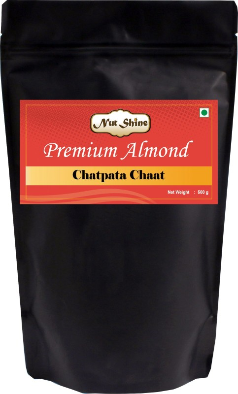 Nut Shine Chatpata Chaat (500 Gm) Almonds(500 g)