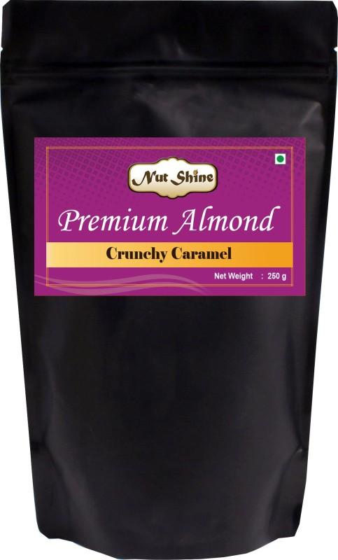 Nut Shine Crunchy Caramel (250 Gm) Almonds(250 g)