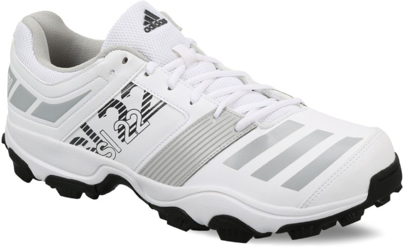 ADIDAS Sl22 Trainer 2017 Cricket Shoes For Men(White, Grey, Black)
