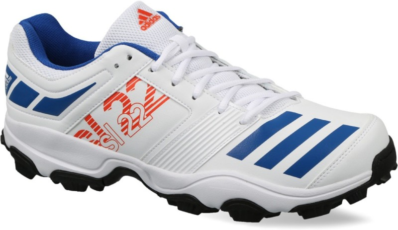 Adidas Sl22 Trainer 2017 Cricket Shoes For Men(White, Blue)