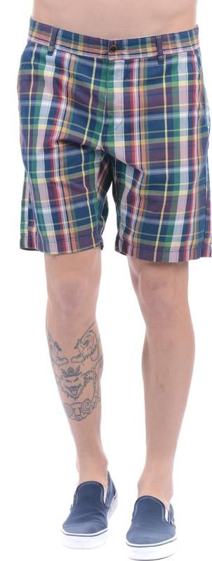 Gant Checkered Men Multicolor Basic Shorts