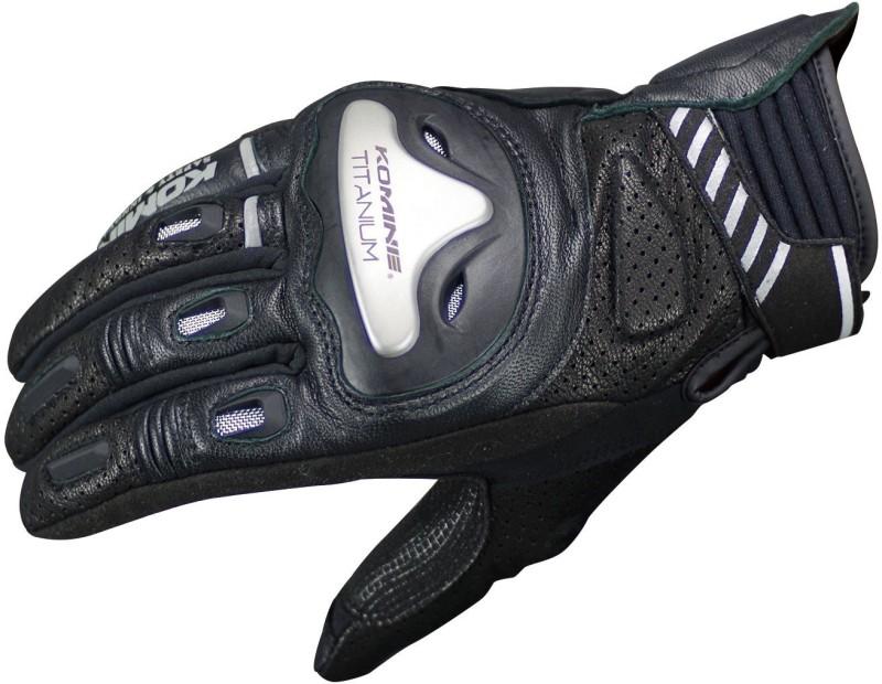 KOMINE GK-200_BLACK Riding Gloves (XXXL, Black)