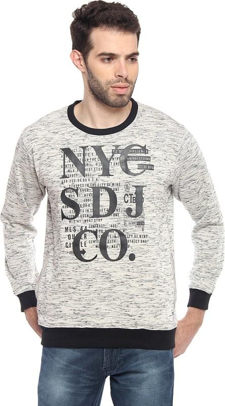 Duke Full Sleeve Printed Men Sweatshirt