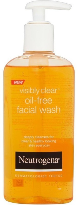 Neutrogena Visibly Clear Oil Free Facial Wash (Imported, Made in Greece) Face Wash(200 ml)