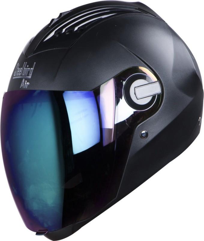 Steelbird SBA-2 Motorbike Helmet(Black)