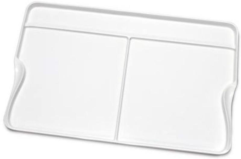 Isomars Plastic 3 Paint Wells Palettes(Set of 1, White)
