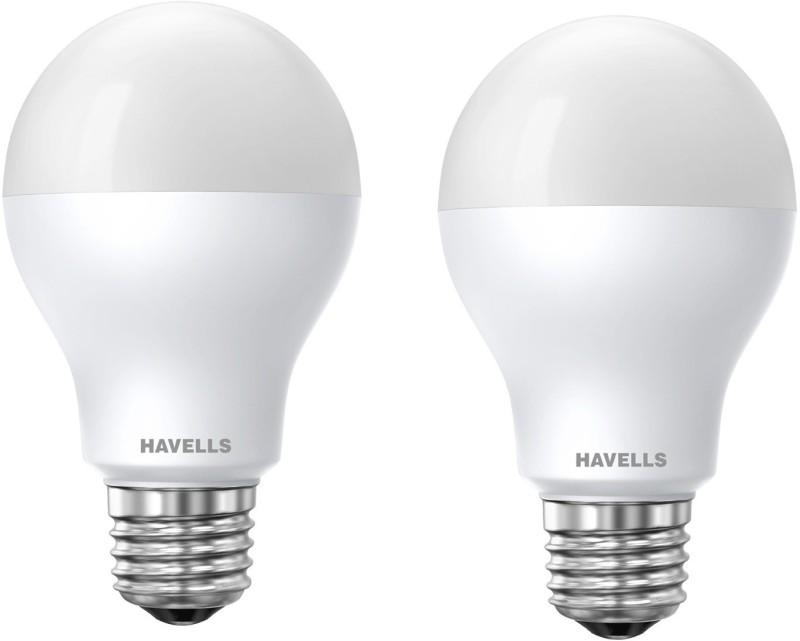 Havells 5 W Standard E27 LED Bulb(White, Pack of 2)