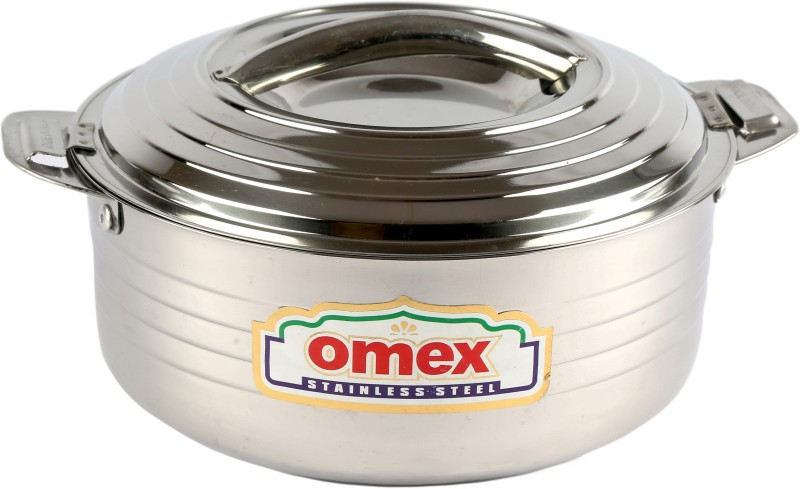 Omex Omex Crown 3000 Insulated Stainless Steel Casserole, Serving Pot Casserole(3 L)