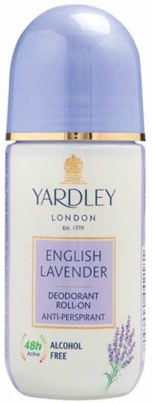 Yardley London 1 English Lavender Deodorant Roll-on - For Men & Women(Pack of 1) Deodorant Roll-on - For Men & Women(50 ml)