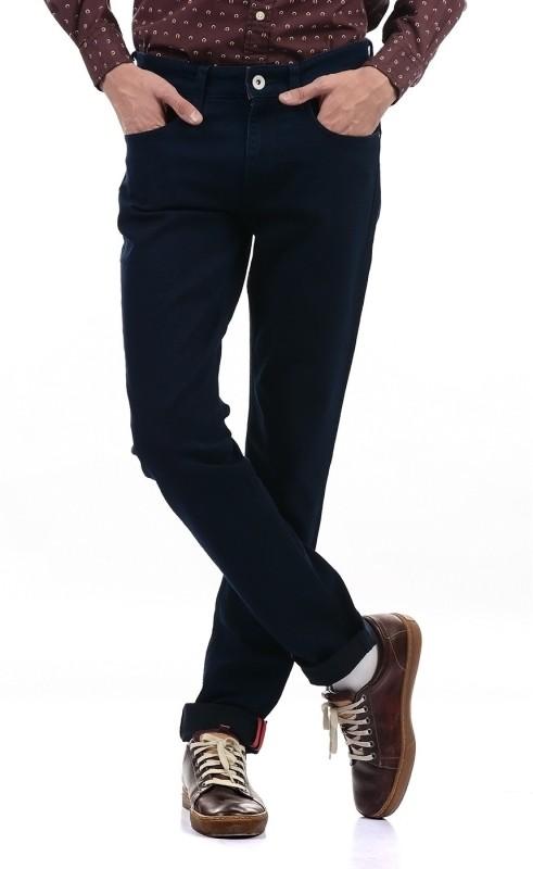 Izod Regular Men Dark Blue Jeans
