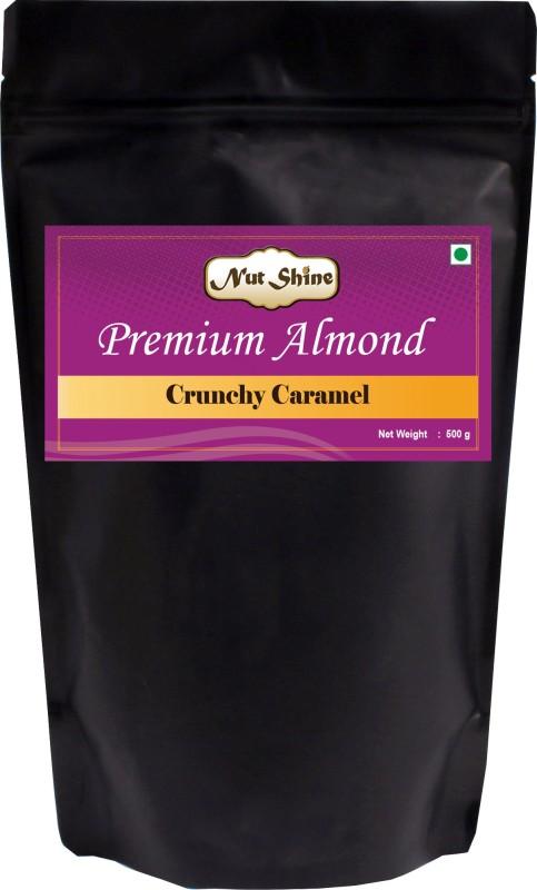 Nut Shine Crunchy Caramel (500 Gm) Almonds(500 g)