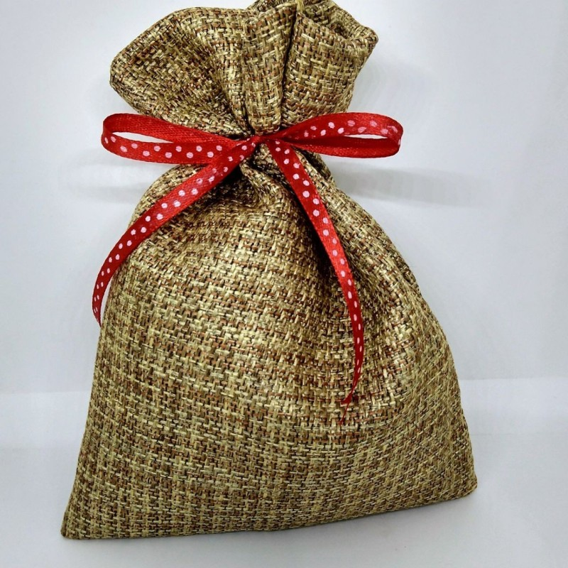 GiftStation Jute goodie bag Potli(Khaki)