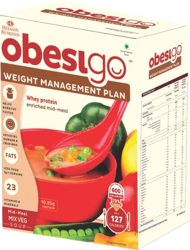 Obesigo Mix Veg Soup Whey Protein(50 g, MixVeg)