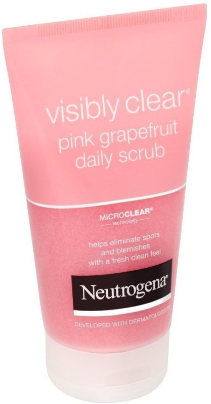 Neutrogena Visibly Clear Grapefruit Daily Scrub (Imported, Made in France) Scrub(150 ml)