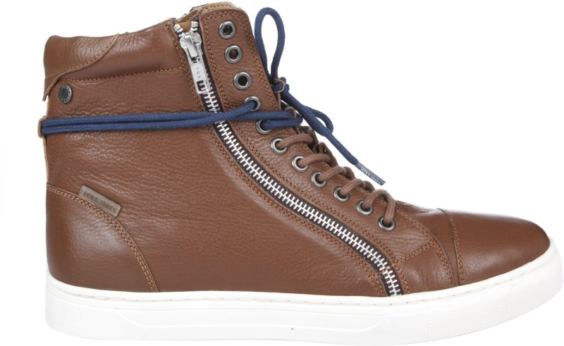 Jack & Jones Sneakers For Men(Brown)