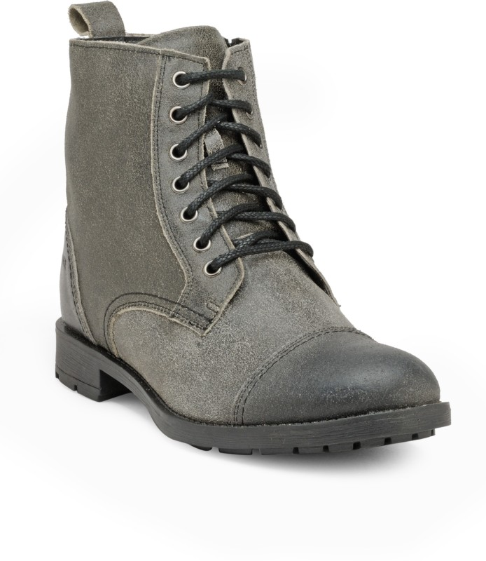 FRANCO LEONE 15008 Boots For Men(Grey)