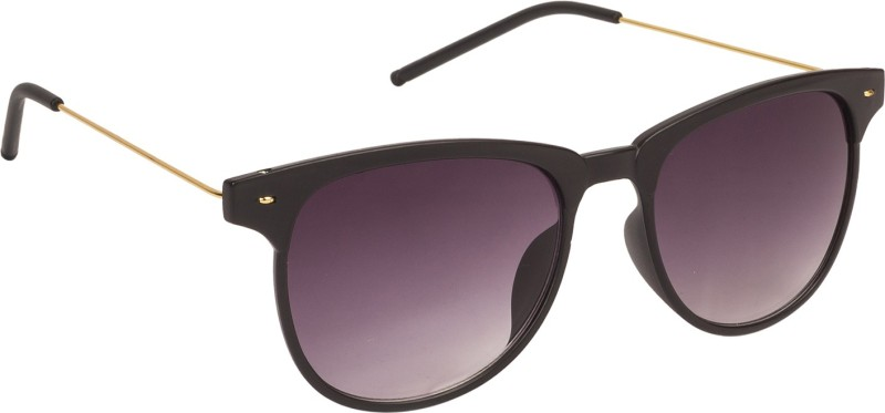 Arzonai Retro Square Sunglasses(Black) image