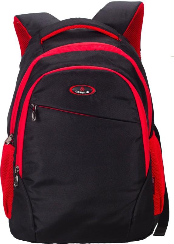Cosmus Chicago Backpack 32 L Backpack(Red, Black)