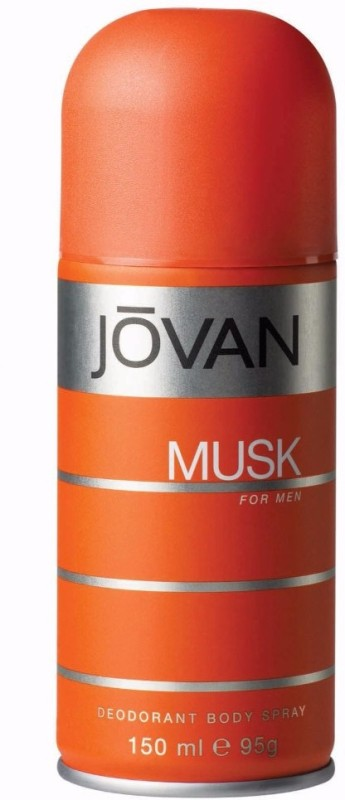 Jovan Musk Body Spray - For Men(150 ml)