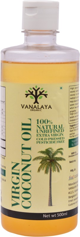 Vanalaya Virgin Coconut Oil Coconut Oil 500 ml