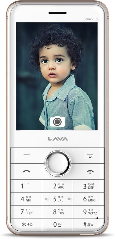 Lava Spark i8(White & Gold) image