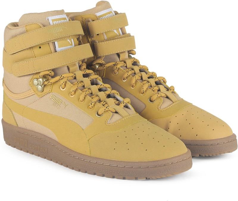Puma Sky II Hi Weatherproof Sneakers For Men(Beige)