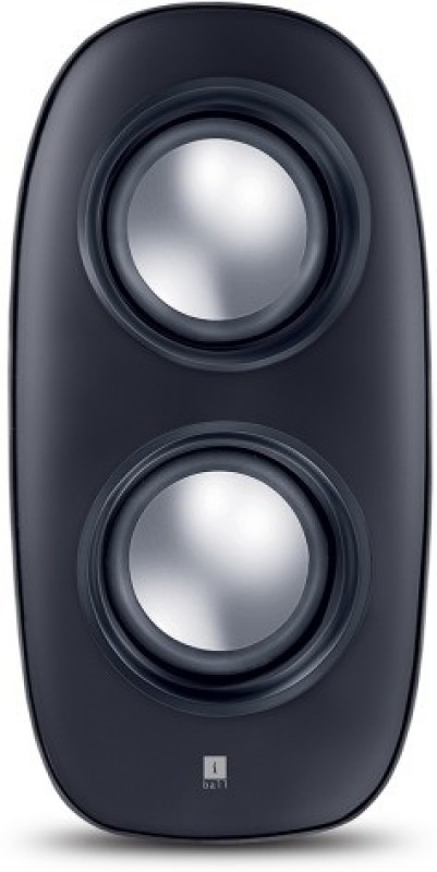 iBall Melodia i4 2.0 Computer Multimedia Speaker 4 W Laptop/Desktop Speaker(Black, 2.0 Channel)