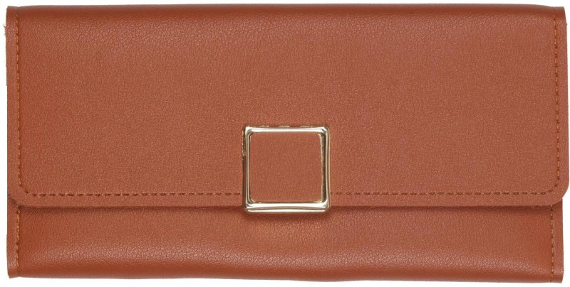 aaradhya creations Women Brown Artificial Leather Wallet(10 Card Slots)