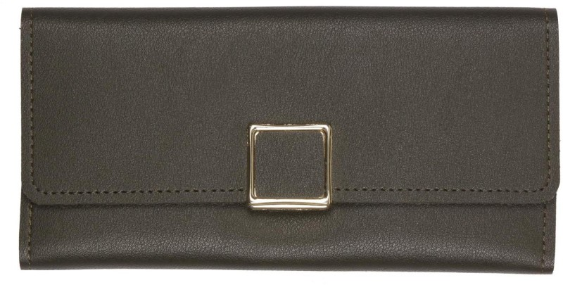 aaradhya creations Women Black Artificial Leather Wallet(10 Card Slots)