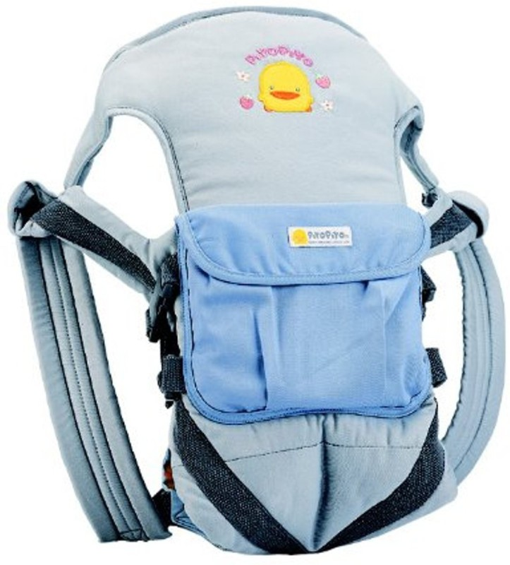 Piyo Piyo Multi-Functional Baby Carrier (Blue) Baby Carrier(Blue, Front Carry facing in)